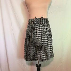 Adrienne Vittadini Skirts - Adrienne Vitadini Knee Length Patterned Skirt